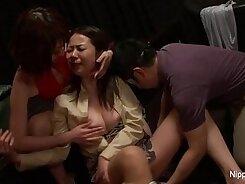 Bodacious Japanese slut has a splendid and elegant mouth