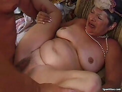 bit of Hot Young Granny webcam show