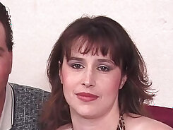 Bodacious kinky sex goddess pleases her virgin stepson in cab