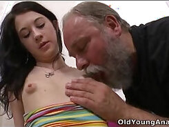 Breasty girls get licked in the morning