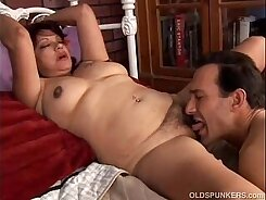 Amazing Latina cougars Nastasha and Kimmye lusty eating two cocks in close