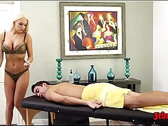 Busty younger blonde Kenzie Taylor may lick older guys warm prick