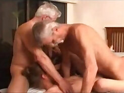 Crazy granny wife fucked by a young guy