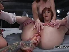 Anal Penetration For This Sexy Lesbian
