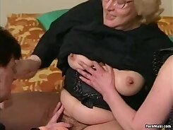 young hairy babe is getting fucked in the kitchen