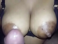 Busty Indian with nice pierced nipple