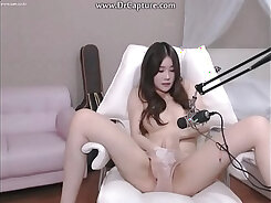 solo Korean girl with drilled hard