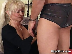 Blonde Mature Giving You His Flesh