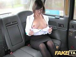 British amateur rimming in taxi