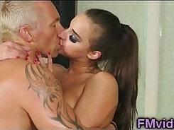 Crummy and pervy bitch Amirah Adara gives sensuous massage