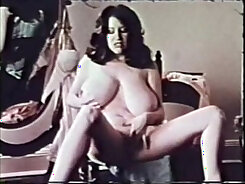 Classic Busty Aged Brunette Gets Creampied