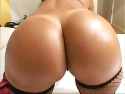 Busty tanned whore gets her anus fucked hard after steamy ass pounding