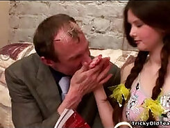 Busty girl deepthroating ever at sex arcade after fucking in field