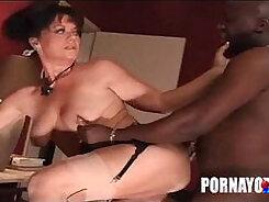 Huge Black Cock For A SEXY Face Fucking A Slut