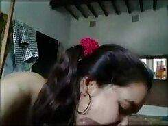 Beautiful coed sucking cock on webcam