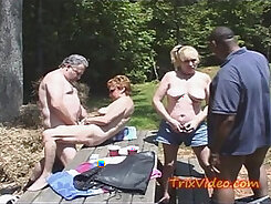 Blonde Hottie Sucking Boner In Public
