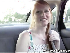 Ass Traffic DOMme redhead teen rough anal and gets fucked hard