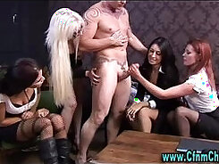 Clothed femdom cheerleaders tie and fuck in a hardcore movie
