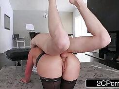 Cali Carter hot titties eat pussy