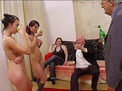 Amazing horny sex at the gonzo orgy