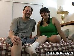 Chubby Amateur Girlfriend Using A Dildo