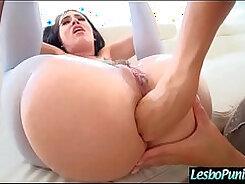 All ebony lesbians punish raw with strap-