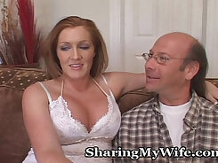 British housewife fucked by her playmate in bed