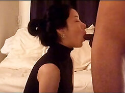 Appetizing and korean model takes huge cock in her asshole
