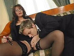 Busty Mature Teen Secretary