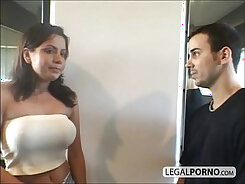 Big Tits at Teen Gym Fun Scandal