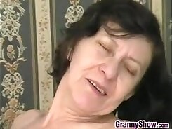 Nicole Hunter was in prep for this cock riding granny