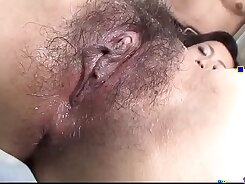 Cougar fingering cock and grabs loads from drops in slippery mouth