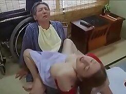 Lazy Natural Skinny Japanese Wife