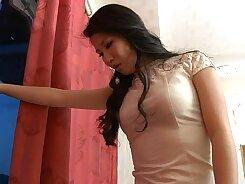 Chinese porn star Femdom porn photoshoot movie