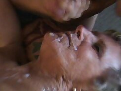 Granny topless and fuck