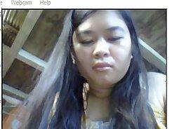 Asian Webcam Girl Topless Fucks Stallion